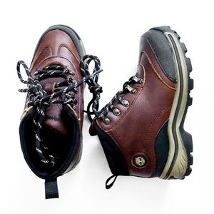 NEW WATERPROOF High Top Hiking Boots Boys US 12.5